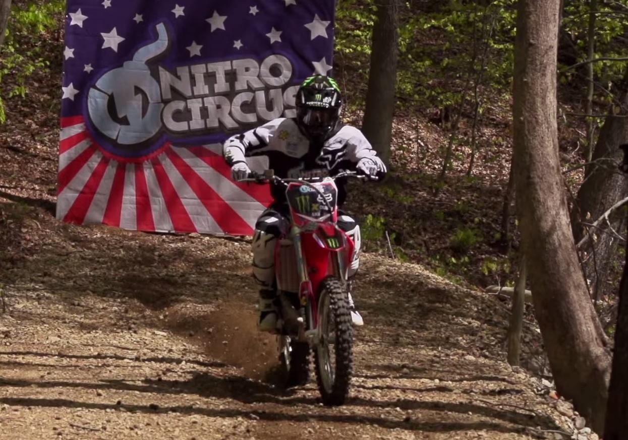 Motocross backflip gallery