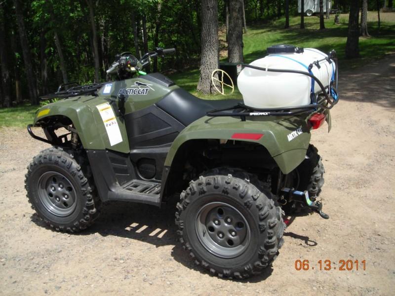 Arctic Cat 550 ATV with Fimco Sprayer