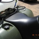 Arctic Cat 550 seat, rear rack and gas cap location