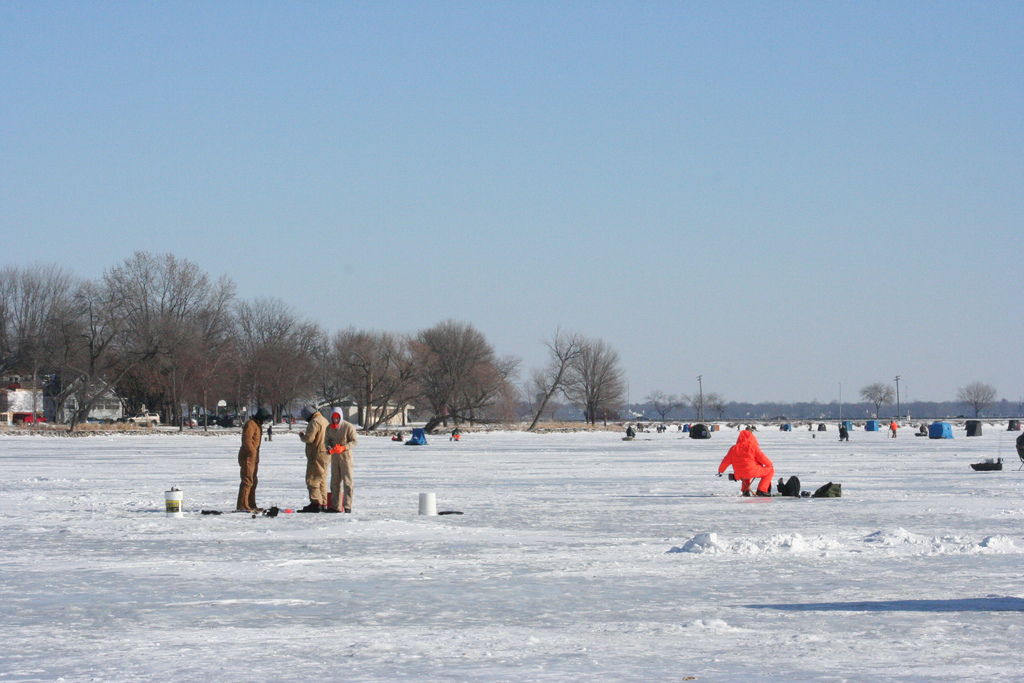 Ten ice fishing tips outdoorhub for How to ice fish