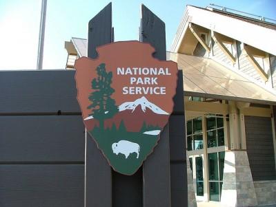National Park Services logo.