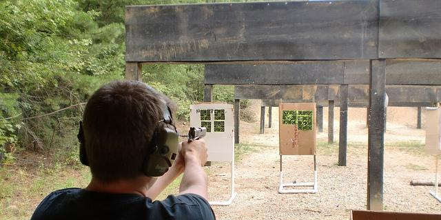 Staying safe at the range. Photo: hardwarehank