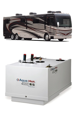 Aqua Hot Heating System Now Offered On New 2012 Fleetwood