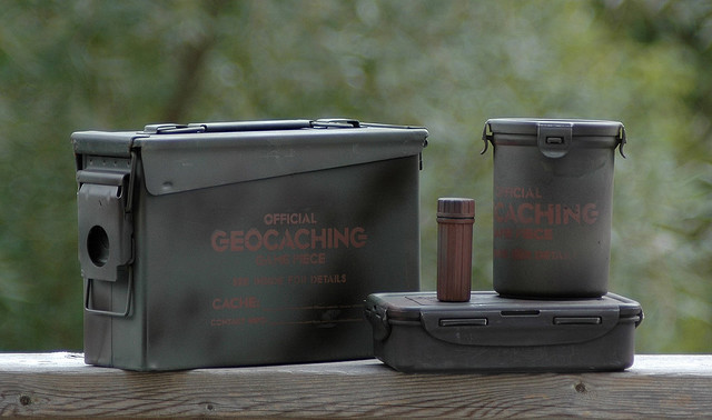 Geocaching Containers. Photo: Cache Mania