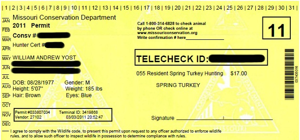 missouri department of conservation e-permits let hunters buy