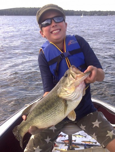 Cooler water temperatures mean hot bass fishing in vermont for Best time to go bass fishing