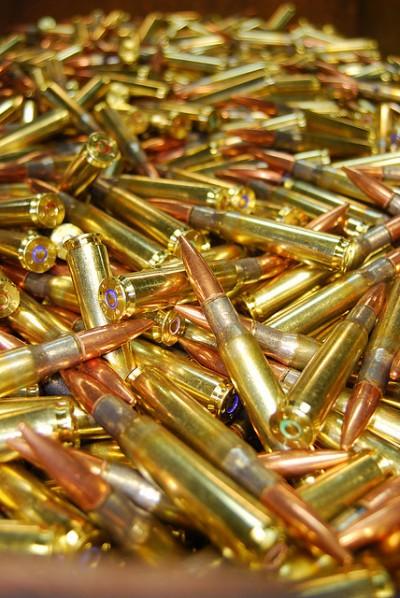 Cartridges. Photo: Jean Skillman, U.S. Army Environmental Command