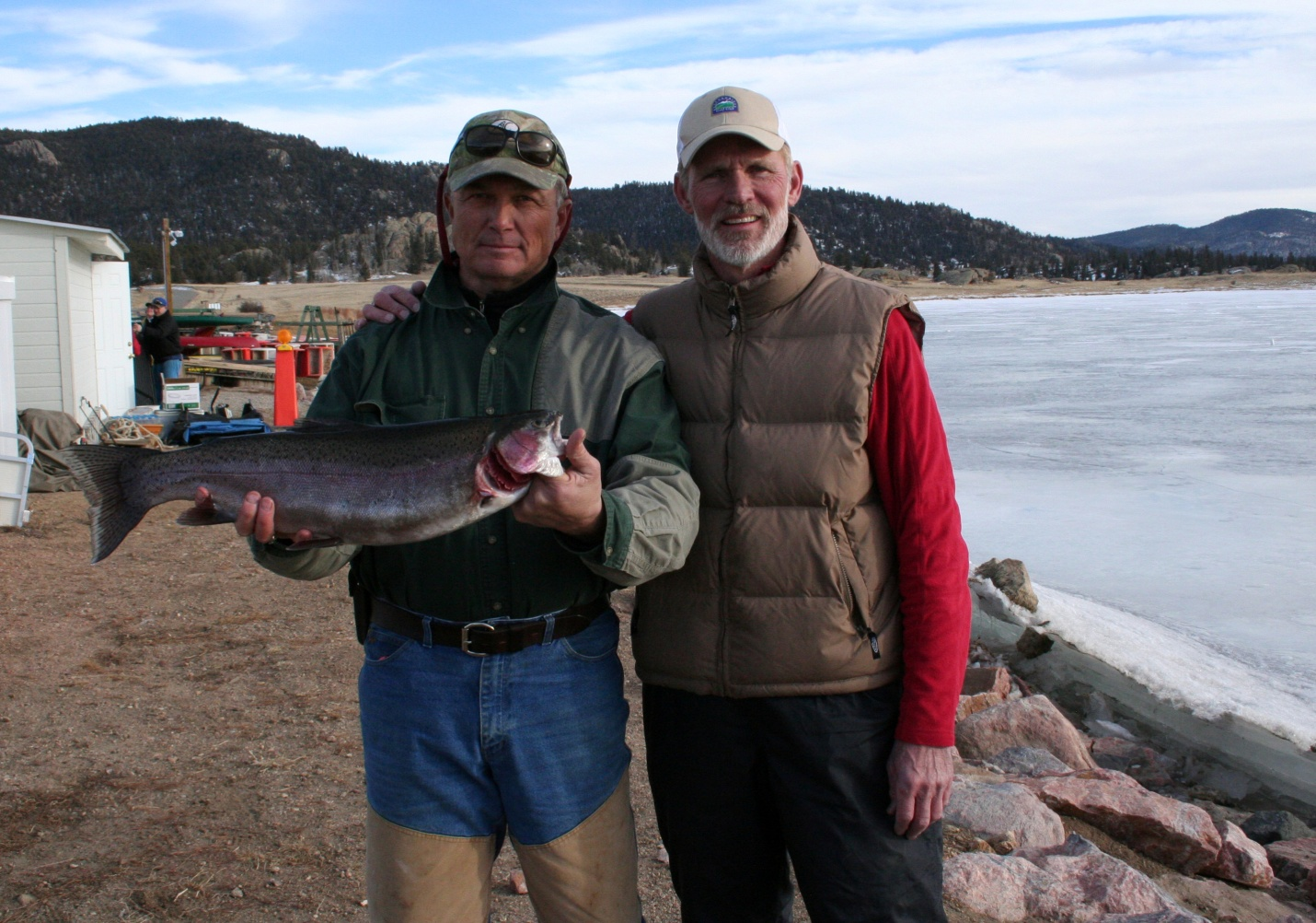 Eleven mile state park in colorado to host ice fishing for Ice fishing tournament