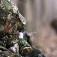 Turkey hunters should always positively identify their target before pulling the trigger. Demand multiple points of identification such as the beard, feet, wings and tail feathers. Photo: NWTF