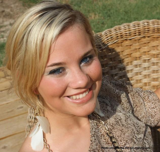 Mikayla Nixon, Senior 2012 and Champion Turkey Talker, will graduate 8th in her class.