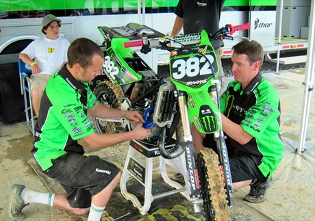 Monster Energy Kawasaki Team Green Secures Eight Top-Three Finishes