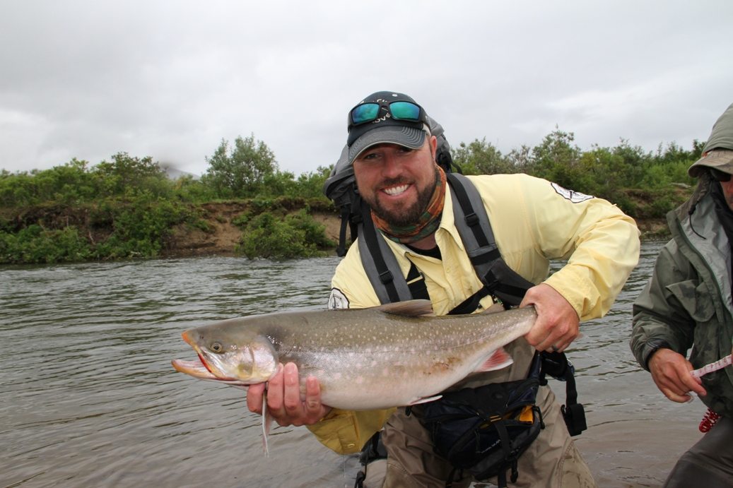 how to fish for arctic char