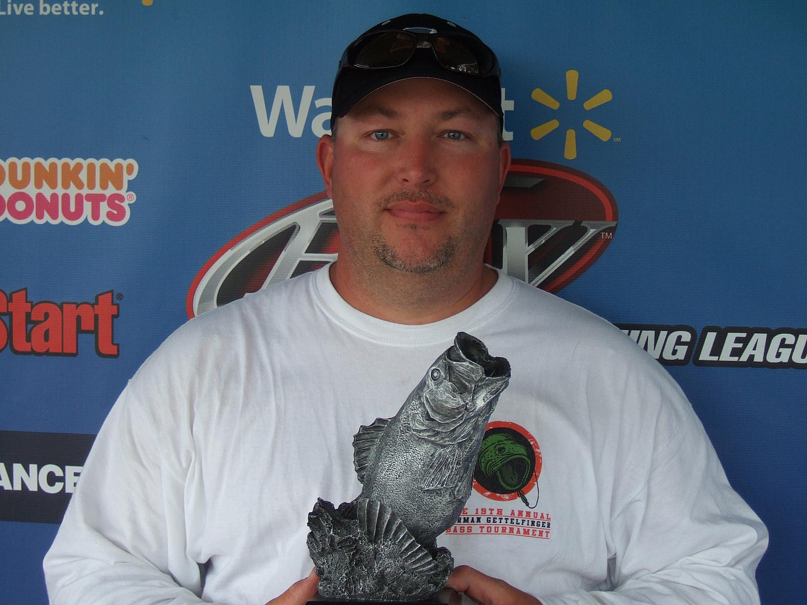 Kitchens wins walmart bass fishing league bulldog division for Fishing license ga walmart