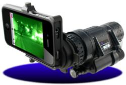 Night Vision Scope iPhone Adapter
