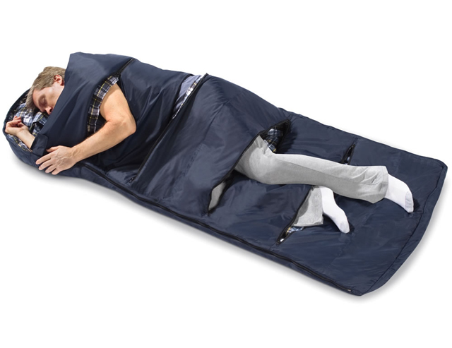 Ventilated Zippered Sleeping Bag For Those Warm Summer Nights