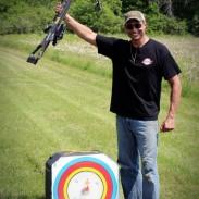 Tom Smith 200 Yard Shot with Darton Fireforce Crossbow