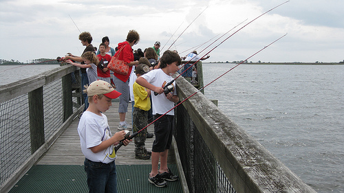 Free kids fishing clinic promises day of learning fun in for Florida free fishing days