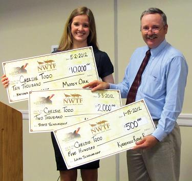 2012 NWTF Scholarship Winner cropped