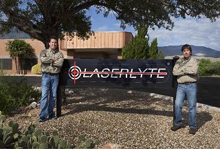 LaserLyter sign