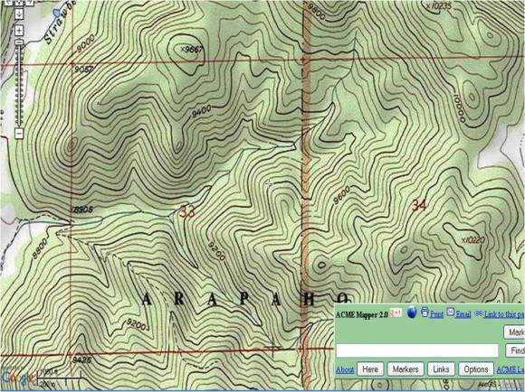 how to use a compass and topo map