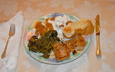 Texas-Seared Wild Pork Chops