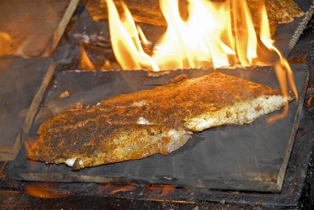 Shaggy S Cedar Plank Redfish Recipe Outdoorhub