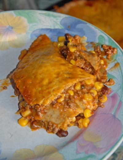 1 Tex Mex Lasagna