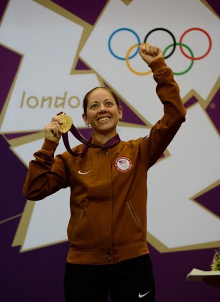U.S. Army wife Jamie Gray wins Olympic women's 50-meter rifle 3-