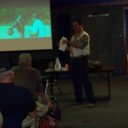 Rex Holmes leading a seminar at the KY Outdoor Expo