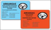 Free Replacement Hunting and Boating Education Cards Now Available Online in Arkansas