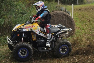 Cliff Beasley won the U2 class aboard his UXC Racing-backed Can-Am Renegade 800R X xc.