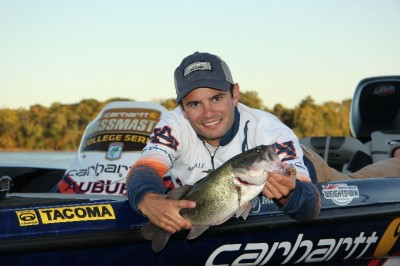 Matt Lee of Auburn University will roll up at the 2013 Bassmaster Classic in a 'sweet' wrapped truck and boat package.