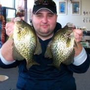 Just few of the crappies I kept, all are basically the same size.