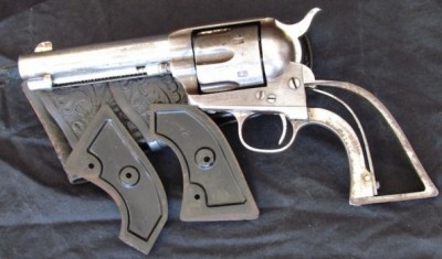 Butch Cassidy's 1899 Amnesty Colt .45 Revolver