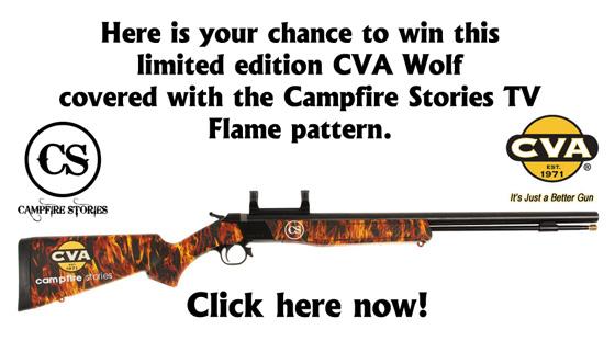 CVA Sweepstakes on Facebook: Win a CVA Wolf