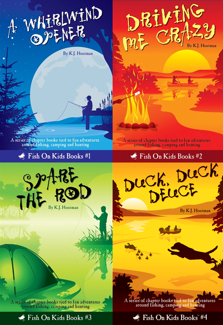 Fish on kids a children 39 s book series that promotes for Children s books about fish