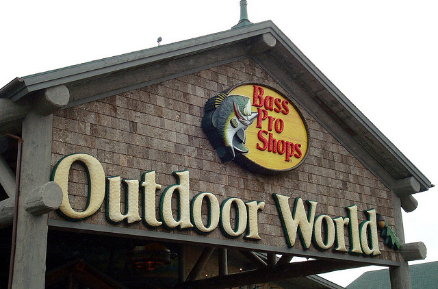 Bass pro shops set to compete against cabela 39 s in the race for Bass pro spring fishing classic 2017