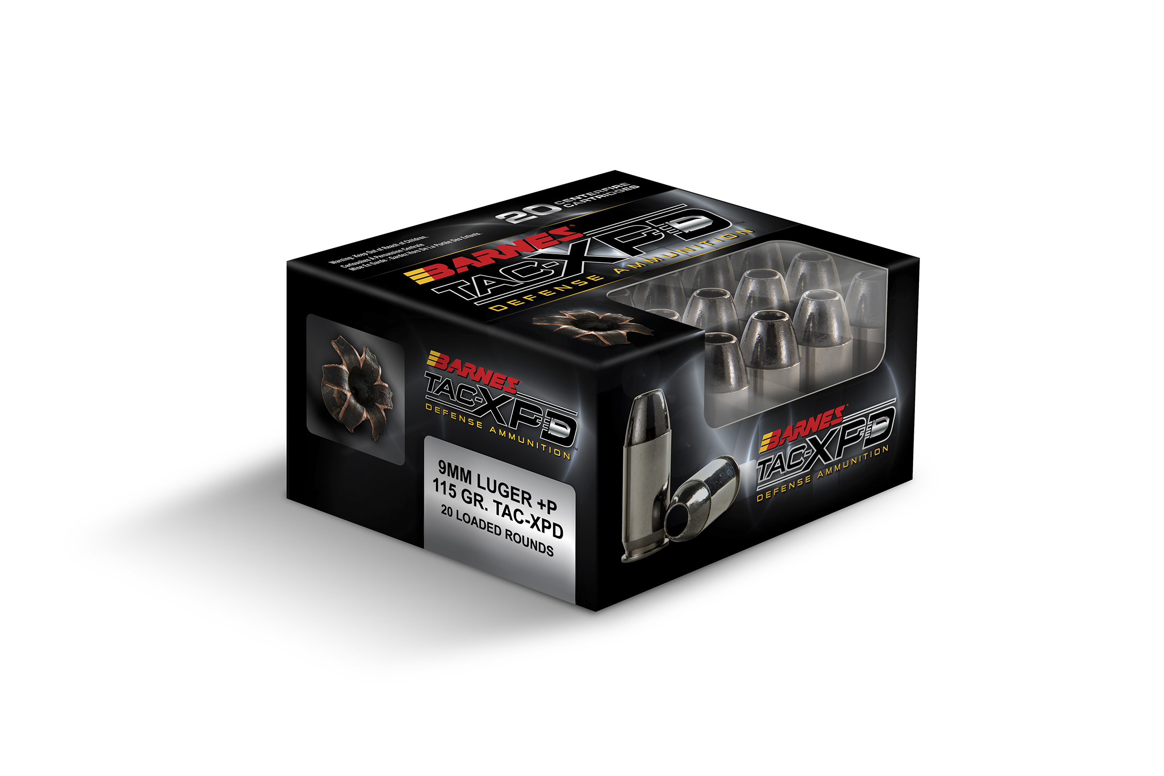 Ammo Review: Barnes 9 mm +P 115gr. TAC-XPD - The Truth ...
