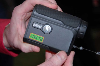 The new Truth Rangefinder from Bushnell and Primos