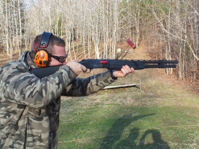 Chris Cerino of Top Shot and Cerino Training Group runs the JM Pro at Lewis Creek Shooting School.