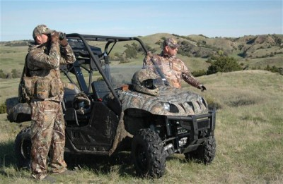 ATVs allow you to cover more ground when hunting wide-ranging birds like the Merriam's turkey.