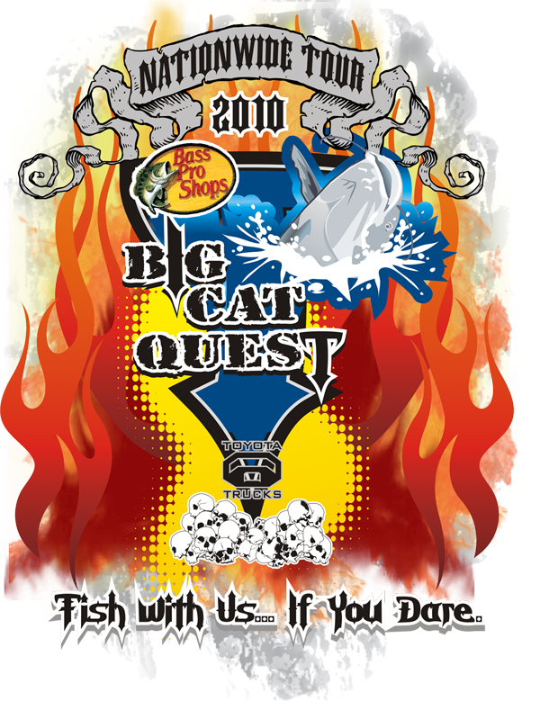 Big cat quest national fishing tournament announces dates for Kentucky fishing license cost