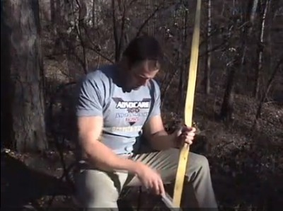 Making a primitive bow