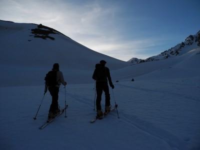 Ski de randonnŽe dans l'Oisan