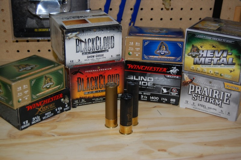A small sample of the different waterfowl loads available today.