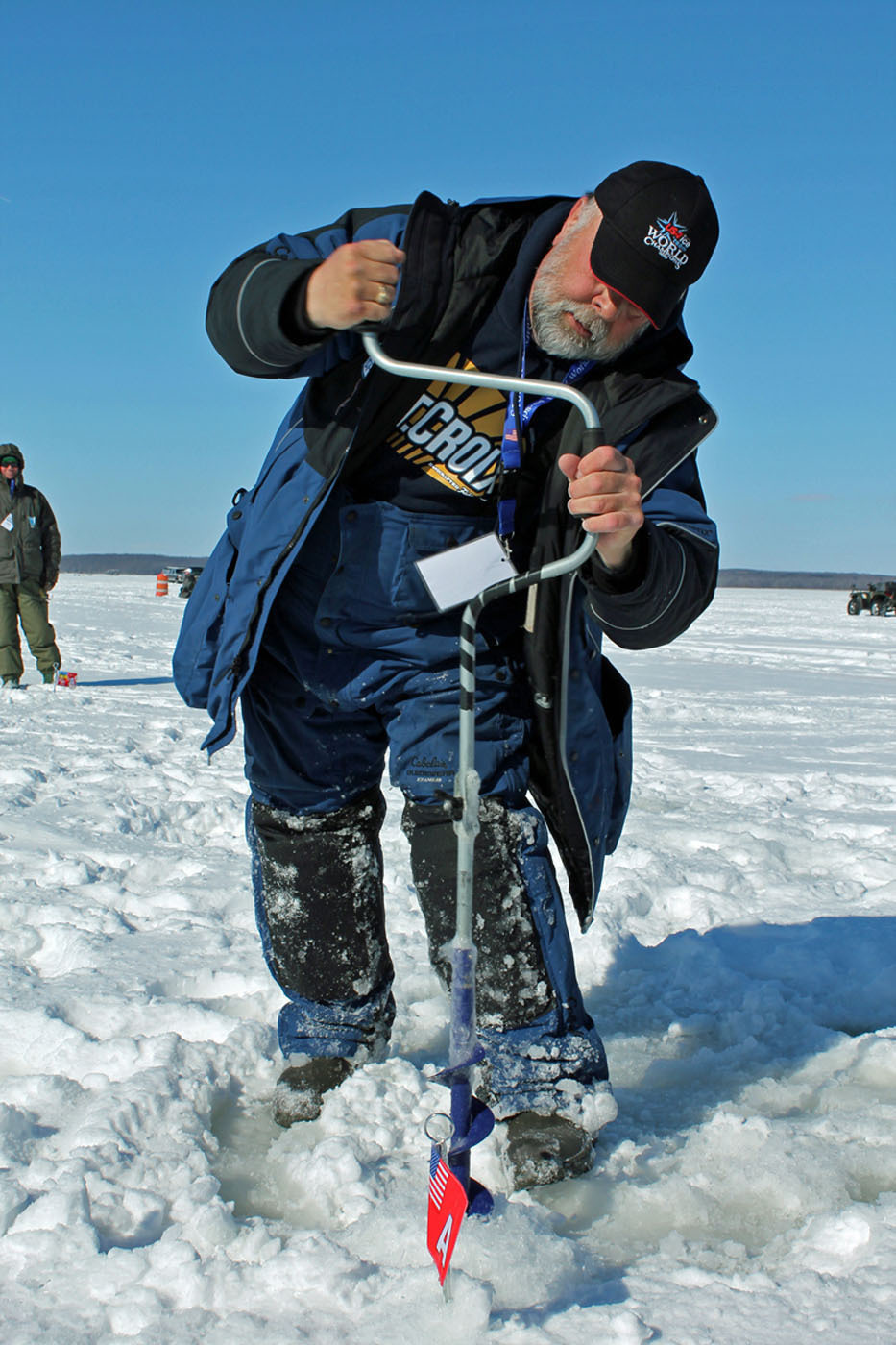 Take me fishing and team usa bring attention to the for Ice fishing near me