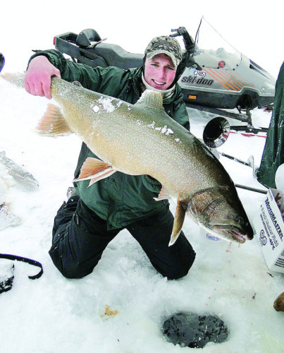 Miracle on Ice: World's Largest Lake Trout Hooked and ...