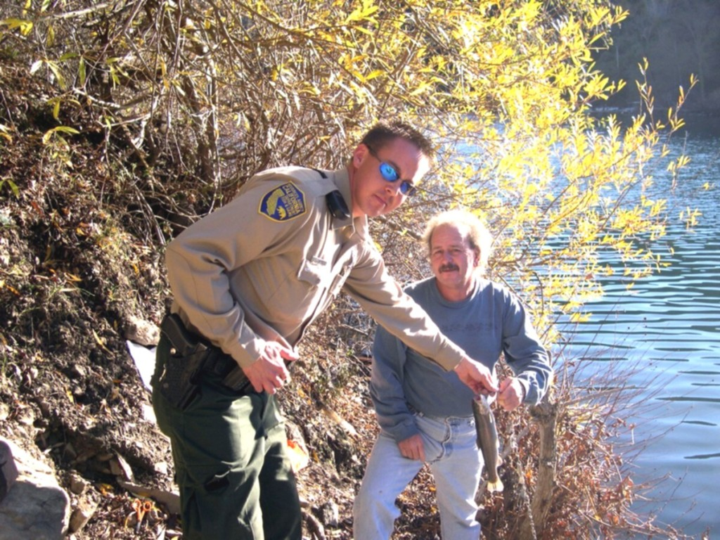 Suppose you meet a game warden in the field outdoorhub for Fish and game warden