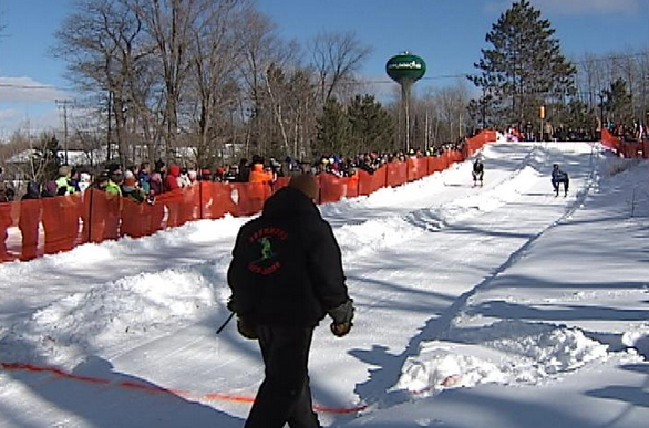 Wisconsin Bar Stool Ski Races Raise Money for Local  : drummond bar racing from outdoorhub.com size 586 x 387 png 530kB