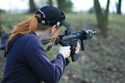 shooting downrange